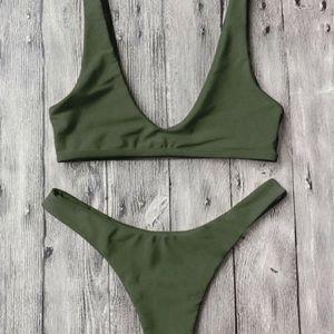 Other - Army Green Bikini